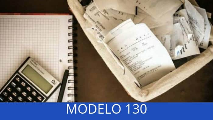 modelo 130 presentación