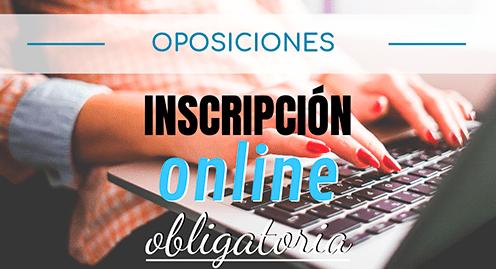 modelo 790 oposiciones inscripción en línea